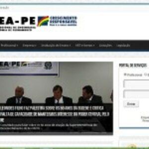 Crea-PE estreia novo portal de serviços e notícias para os profissionais do Sistema