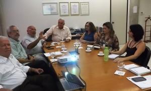 Reunião ocorrida na manha desta quinta-feira para tratar de termo de cooperação técnica entre o Crea-PE e Funasa/PE