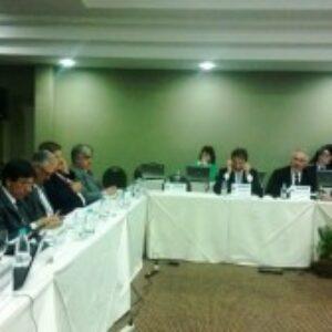 Gleisi Hoffman fala sobre logística e responde a perguntas dos presidentes na reunião do CP em Foz do Iguaçu