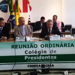 Presidente do Crea-PE participa do Colégio de Presidentes do Sistema Confea/Crea