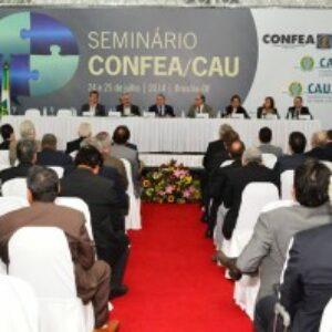 Primeiro Seminário entre Confea/CAU-BR sobre harmonização das atribuições profissionais