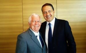 Osvaldo e Eduardo Campos