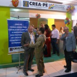 Estande do Crea-PE recebe muitos visitantes na 71ª Soea em Teresina