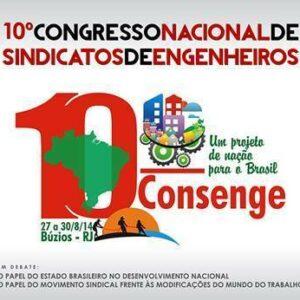 10° Congresso Nacional de Sindicatos de Engenheiros