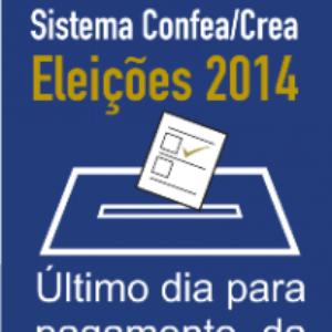 Profissionais têm até 20 de outubro para pagar anuidade e votar para presidente do Confea e Crea e para diretores da Mútua