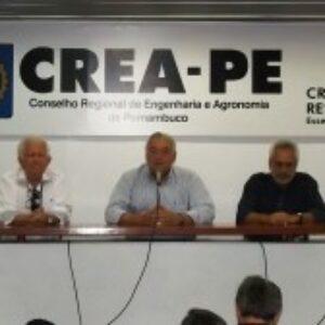 José Mário e equipe se despedem dos colaboradores do Crea-PE