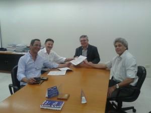Read more about the article Diretoria da APEEF entrega proposta de atuação ao novo presidente do Crea-PE
