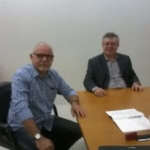 Presidente do Crea-PE recebe visita de cordialidade de Roberto Muniz