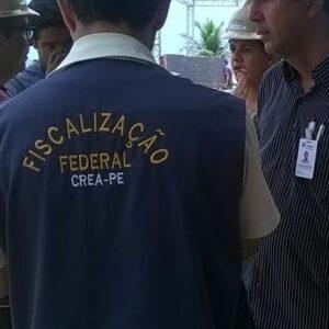 CREA-PE fiscaliza camarotes do Galo da Madrugada e de Olinda