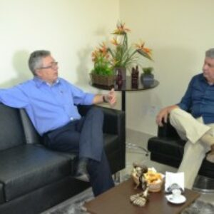 Evandro Alencar visita presidente do Crea-GO