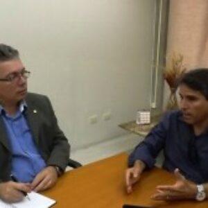 Presidente do Crea-PE, Evandro Alencar, recebe visita de cordialidade de gestor da unidade Estácio do Recife