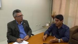 Read more about the article Presidente do Crea-PE, Evandro Alencar, recebe visita de cordialidade de gestor da unidade Estácio do Recife