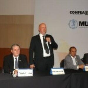 Waldir Duarte Filho representa o Crea-PE na abertura de evento nacional da Mútua no Recife