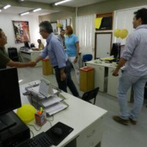 Evandro Alencar agradece em Serra Talhada profissionais que o elegeram