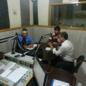 Presidentes do Crea-PE e Crea-PI são entrevistados na rádio Arari FM sobre fiscalização conjunta no Parque Eólico