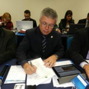 Abertura da reunião do CP é marcada por palestras e assinatura de convênio