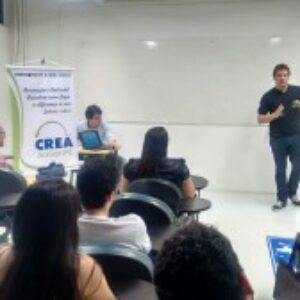 Crea Jr PE é apresentado para os alunos de Engenharia de Produção da FBV