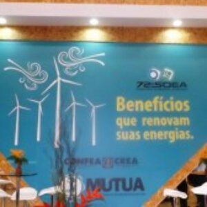 Benefício proposto pelo Crea-PE é tema de estande da Mútua na 72ª Soea
