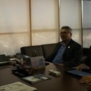 Evandro Alencar se reúne com secretário de Administração e fala dos interesses das categorias que representa