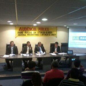 Crea-PE participa de audiência pública que debate situação dos morros do Recife