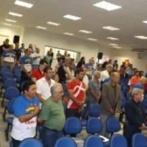 Crea-PE lota auditório de Escola Técnica, em Gravatá, na 2ª Plenária Itinerante