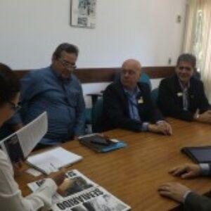 Staff do Crea-PE visita diretora presidente da CPRH