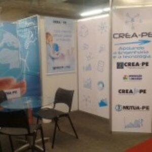 Crea-PE participa do 3º Salão da Construção Civil no Centro de Convenções de Pernambuco