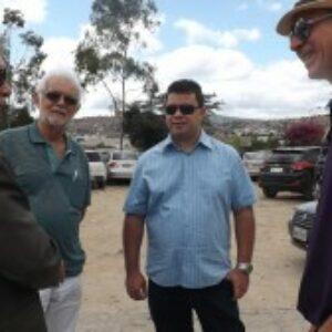 Evandro Alencar visita, em Gravatá, terreno onde deverá ser construída a sede própria da Inspetoria do Crea-PE