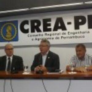 Condição hídrica do Estado é tema da 9ª reunião de Integração entre Inspetores e presidência do Crea-PE