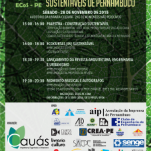 I Encontro de Construções Sustentáveis de Pernambuco