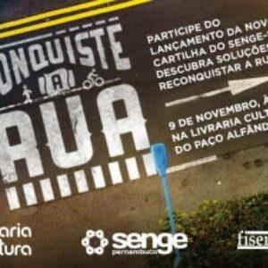 Senge-PE lança cartilha sobre mobilidade urbana