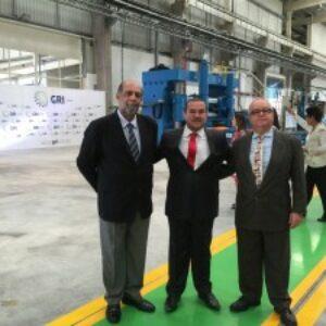Diretor do Crea-PE prestigia inauguração da primeira fábrica de flanges do Brasil