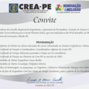 Crea-PE promove Sessão Plenária em homenagem ao Dia do Engenheiro