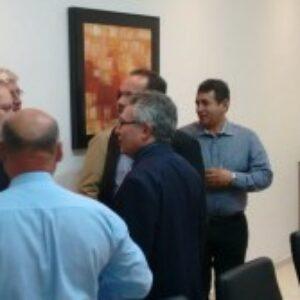 Evandro Alencar participa de lançamento do Projeto Setorial do Gesso feito pelo ministro Armando Monteiro em Araripina