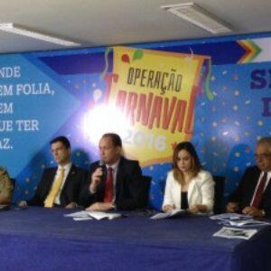 Crea-PE participa de coletiva de imprensa da Secretaria de Defesa Social sobre o Carnaval 2016