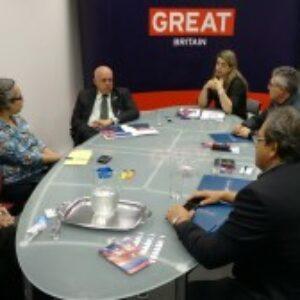 Crea-PE e consulado britânico buscam oportunidades para profissionais pernambucanos