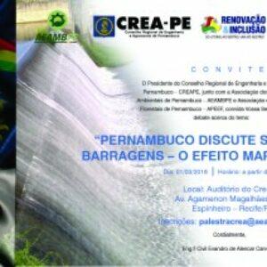 AEAMBPE,  APEEF e Crea-PE realizam palestra sobre o desastre de Mariana (MG)