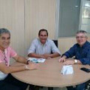 Presidente Evandro Alencar visita o presidente Elias Lima do Pará