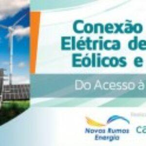 Conexão de parques eólicos e solares à rede elétrica será debatida em curso apoiado pelo Crea-PE