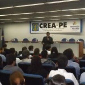 Palestra sobre produção enxuta, BIM e gerenciamento de projetos lota auditório do Crea-PE