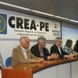 Crea-PE e ABES-PE promovem debate em alusão ao Dia Mundial da Água