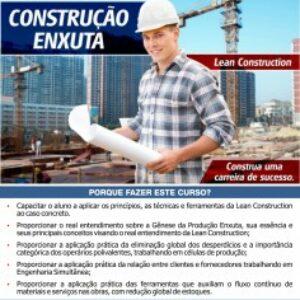 IPOG oferece curso de curta duração de Construção Enxuta