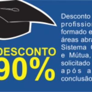 Profissionais recém-formados, com até 180 dias de conclusão do curso, têm 90% de descontos na anuidade 2016