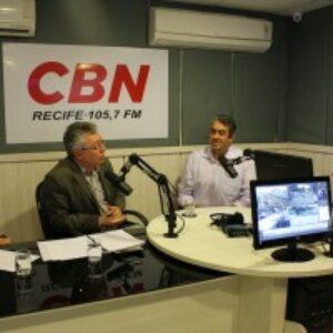 Evandro Alencar participa de debate na CBN Recife sobre Mercado Imobiliário e Crise da Construção Civil