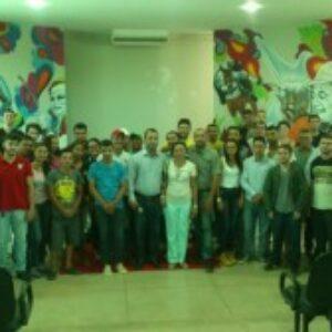 Coordenadores do Crea Júnior Pernambuco divulgam o Programa em instituições de Petrolina e Araripina
