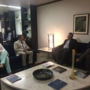 Evandro Alencar faz visita ao presidente do TRF da 5ª Região