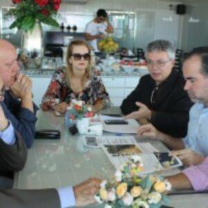 Evandro Alencar se reúne com prefeito de Petrolina, Júlio Lóssio