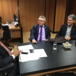 Evandro Alencar é recebido pelo ministro Mendonça Filho em Brasília