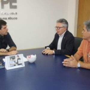 Evandro Alencar faz visita de cortesia ao presidente da Ademi-PE