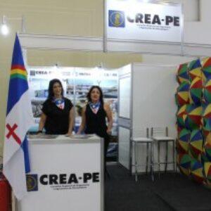 Colorido do frevo e potencialidades da Engenharia e Agronomia marcam estande do Crea-PE na ExpoSoea 2016